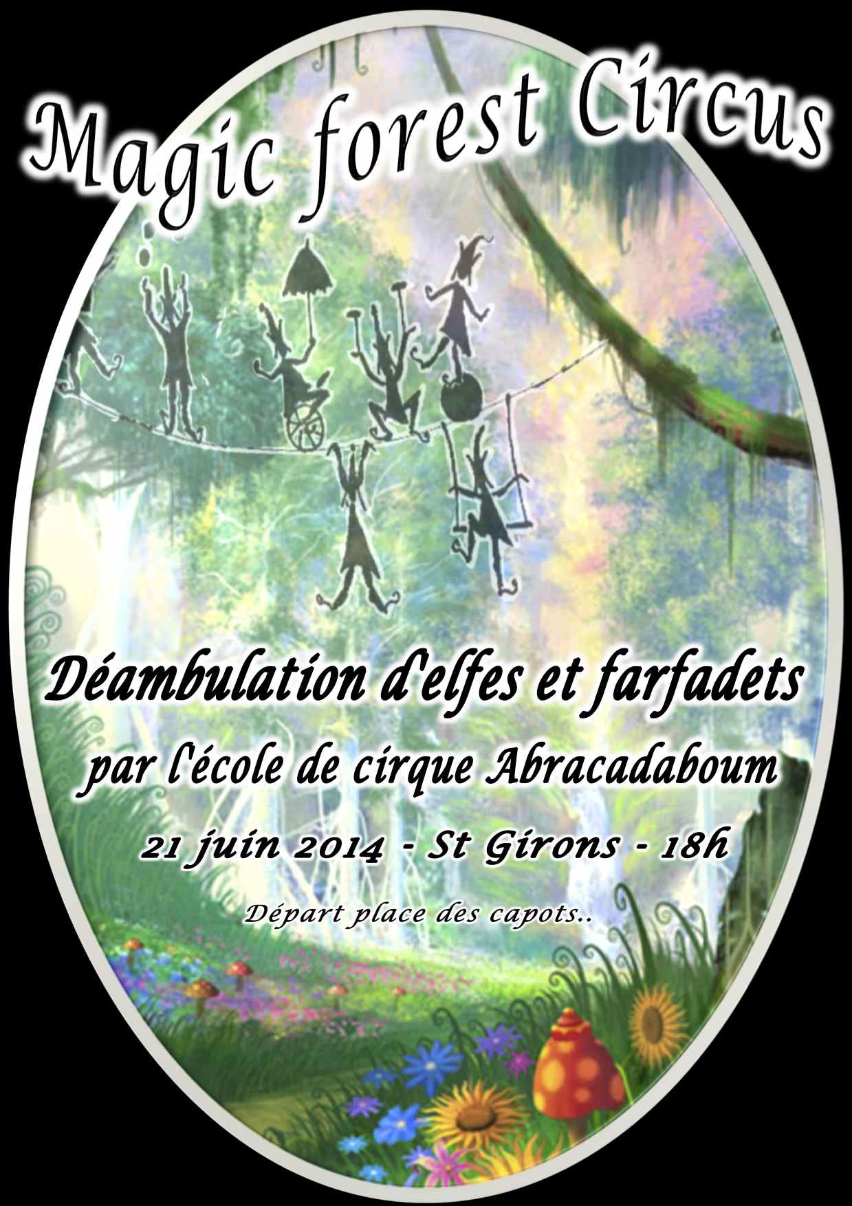 AFFICHE MAGIC FOREST comp